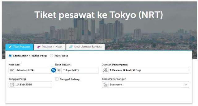 Cara Mendapatkan Promo Tiket ke Jepang