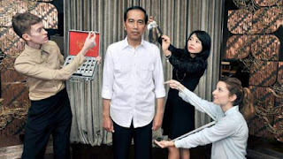 Wow...Patung Lilin Presiden Jokowi Akan Dirilis Di Museum Madame Tussauds Hong Kong.