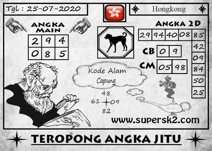 Kode syair Hongkong Sabtu 25 Juli 2020 185