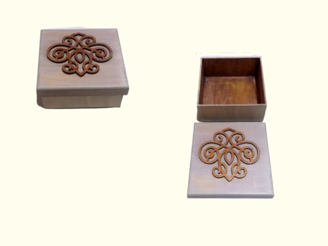 caixa artesanal produto a venda