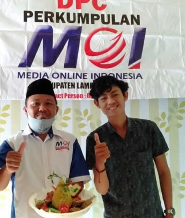 DPC MOI Lampura Rayakan HUT MOI Ke-2 Tahun Secara Virtual Daring Video Zoom Dengan Seluruh Pengurus MOI se- Indonesia