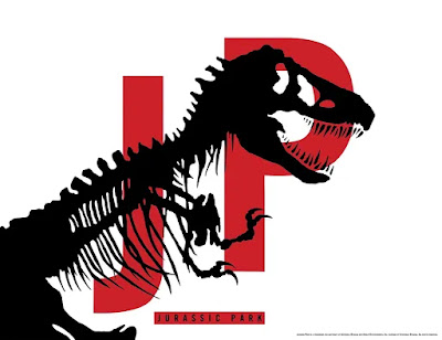 Jurassic Park Letterpress Screen Print by Chip Kidd x Bottleneck Gallery x Vice Press x Justin Ishmael
