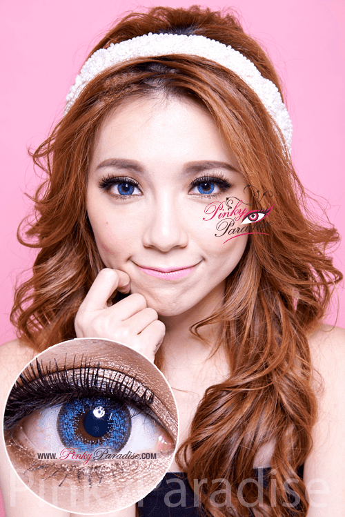 Mi Dali Extra Blue Toric Circle Lenses (Colored Contacts)