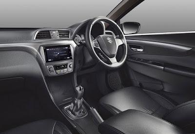 Maruti Suzuki Ciaz 2018 Facelift cabin space