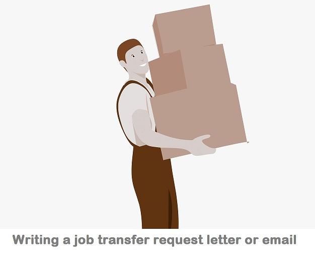 Transfer Application Letter format