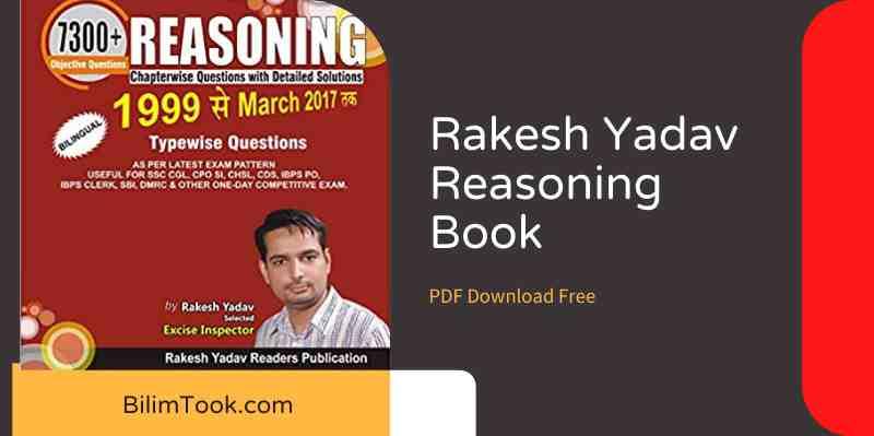 Rakesh Yadav Reasoning Book - PDF Download