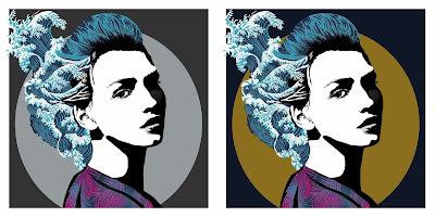 Luna Fine Art Print by Karl Read x Bottleneck Gallery