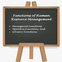 Functions of Human Resource Management - Managerial Functions, Operative Functions, and Advisory Functions.