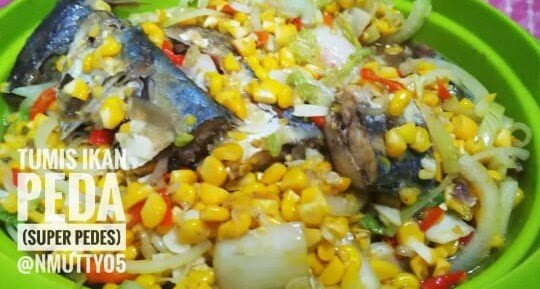 Tumis Ikan Peda Pedas - NMUTTY.com