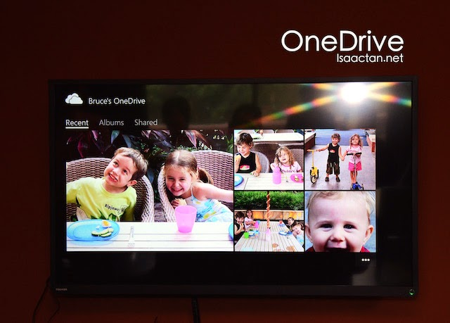 Access Microsoft's OneDrive from the TV