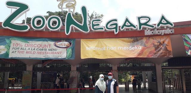 Pintu Masuk Utama Zoo Negara