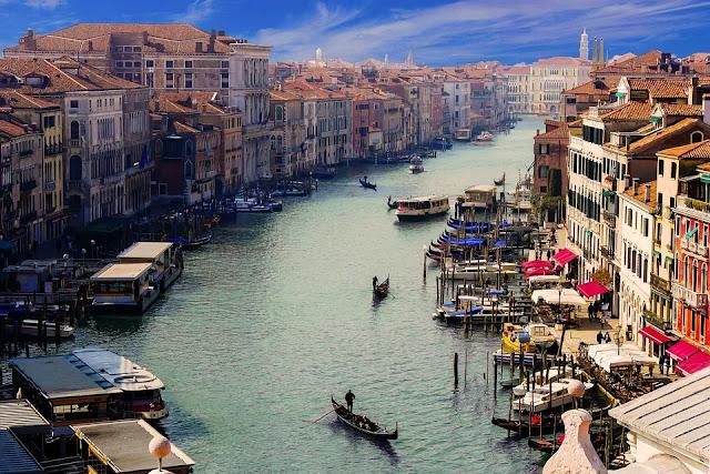Canal Grande-Ponte di Rialto-Venezia