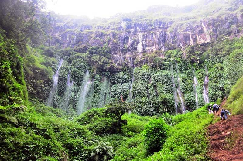 Air Terjun Sumber Pitu Pujon Malang