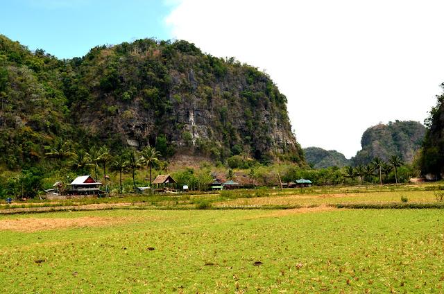 Kampung Berua Rammang-Rammang, Maros, Sulsel +jelajahsuwanto