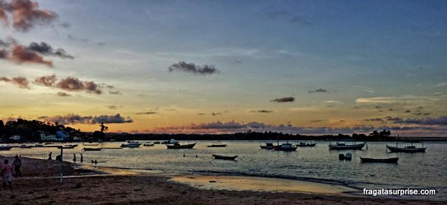 Entardecer na Praia da Coroa, Itacaré, Bahia