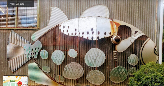 BIG Parrot Fish. one of 72 BIG Fish created for the 2006 Commonwealth Games
