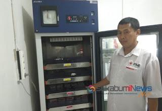 Agus Sutisna, Kepala Bidang Pelestarian Donor Darah PMI Kab. Sukabumi