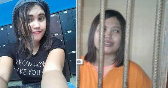 Nyesal Lecehkan Islam Terkait Bom Surabaya, Ria Siregar Nangis Dipenjara