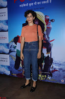 Dangal Fame Sanya Malra with Star Cast of MOvie Poorna (1) Red Carpet of Special Screening of Movie Poorna ~ .JPG