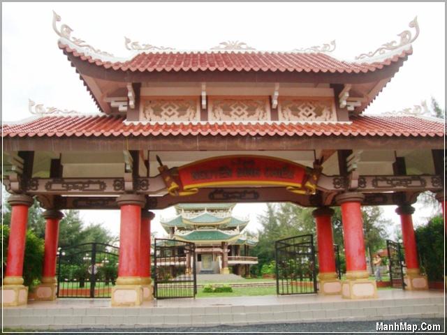 Khu tưởng niệm Nguyễn Đình Chiểu - Ba Tri - Bến Tre