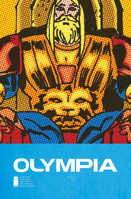 Cover of Olympia #1 Image comics