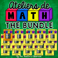 Guided Math French Centers Bundle