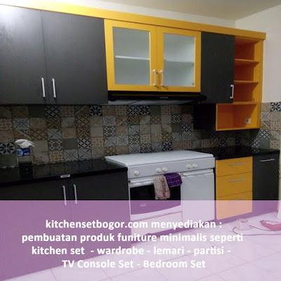 kitchen set bogor