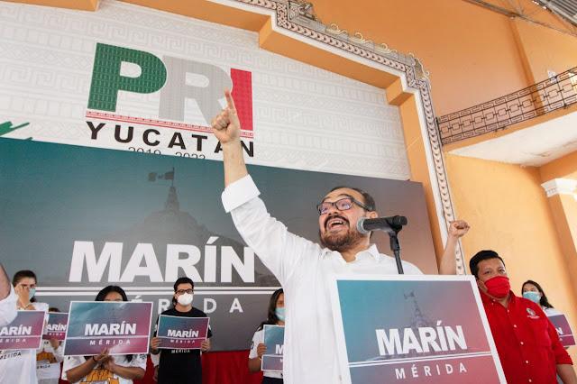 Sé lo que tenemos que hacer para devolverle a Mérida toda su dignidad: Ramírez Marín. Antonio Sánchez