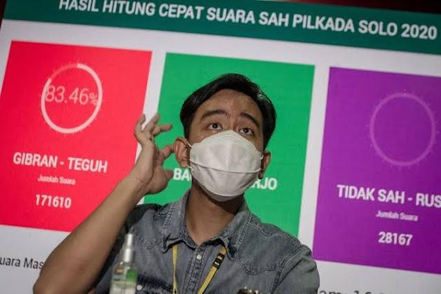 Menang di Solo, Gibran Disebut Berpeluang Jadi Cagub DKI Jakarta