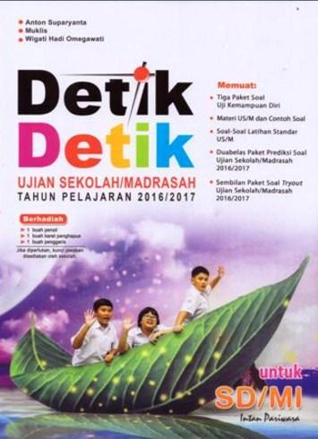 Buku Detik Detik Kelas 6 : detik, kelas, Detik-, Detik, SD/MI, 2019/2020, Panduan, Online, Terpercaya, Indonesia