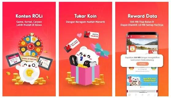 aplikasi penghasil pulsa gratis telkomsel dari ROLi