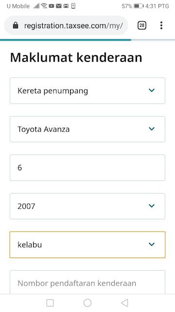 cara daftar maxim driver