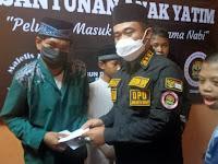 Paguron Jalak Banten Nusantara DPC Cengkareng Berbagi Santunan Anak Yatim Piatu