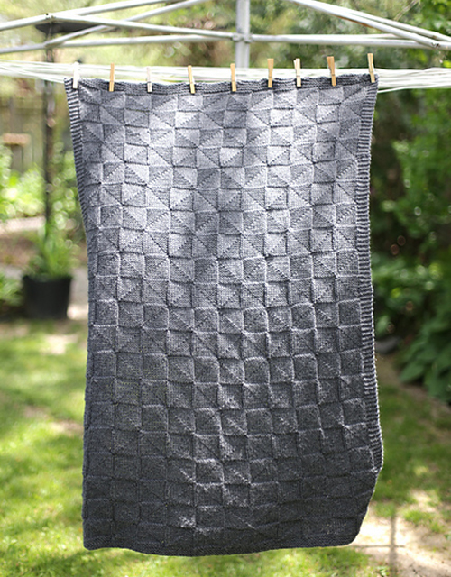 Geometric Baby Blanket - Free Pattern