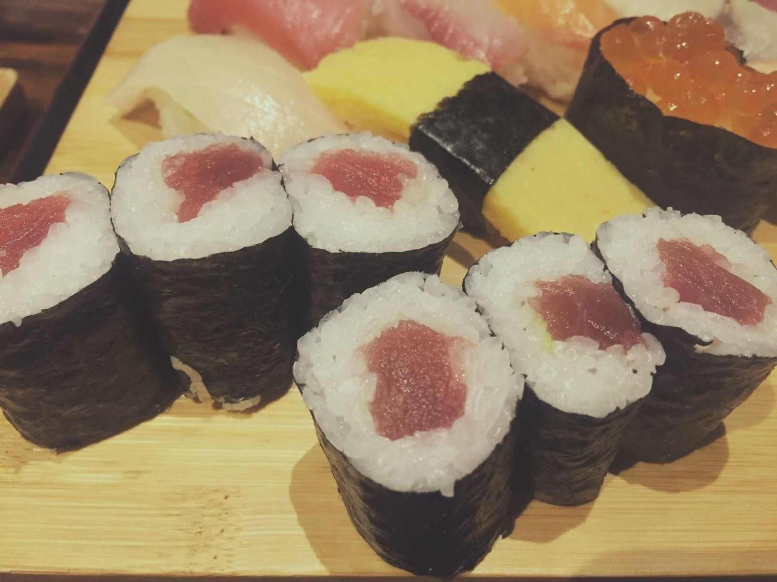 Ogawa Traditional Japanese Restaurant's tuna sashimi