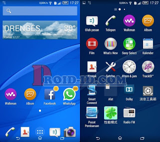 Custom Rom Xperia E4 Dual For Huawei Honor 3C H30-U10 [4.4][Stable]