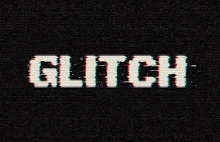 cara membuat efek teks glitch