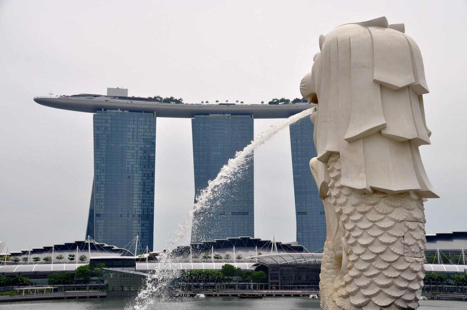 Ställen att gå på i Singapore
