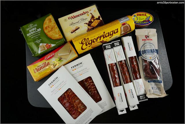 Productos Españoles Comprados en Establecimientos de Massachusetts