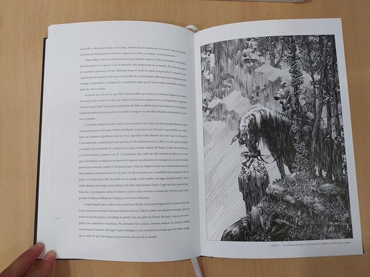 Foto libro ilustrado Frankenstein Bernie Wrightson