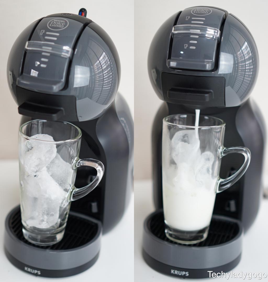 ทำกาแฟเย็นด้วยเครื่องชงกาแฟ NESCAFÉ Dolce Gusto รุ่น Mini Me กันบ้างกับเมนู CAPPUCINO ICE กาแฟนม นมมันมาก