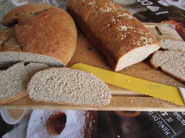 chleby z ciecierzycą