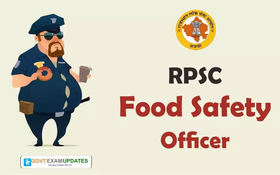 All details about food safety officer 2019