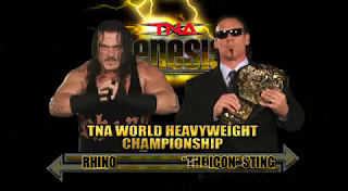 TNA Genesis 2009 - Rhino vs. Sting TNA title match
