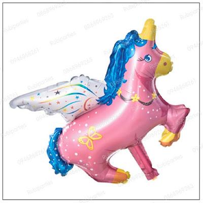 bong hinh con ngua pony màu hồng
