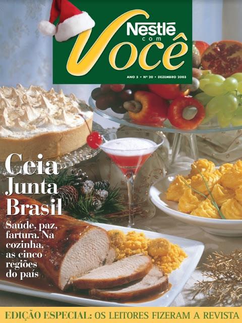 Receitas - Ceia Junta Brasil - Nestlé