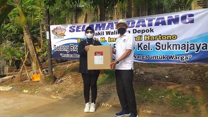 Wakil Walikota Apresiasi Aksi Gotong Royong Warga RW 13 Mutiara