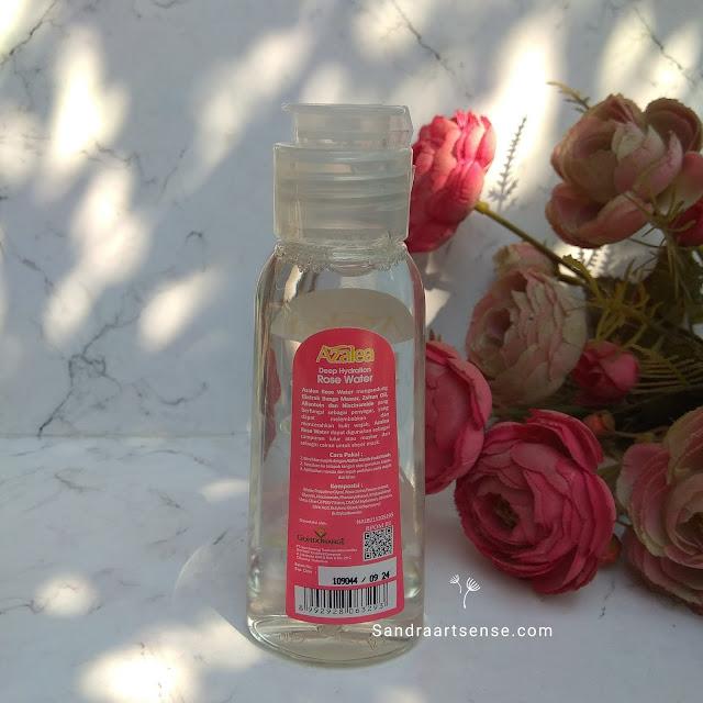 Air mawar Azalea