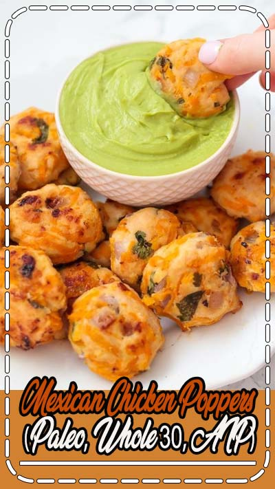 Mexican Sweet Potato Chicken Poppers (Paleo, Whole30, AIP) - Unbound Wellness