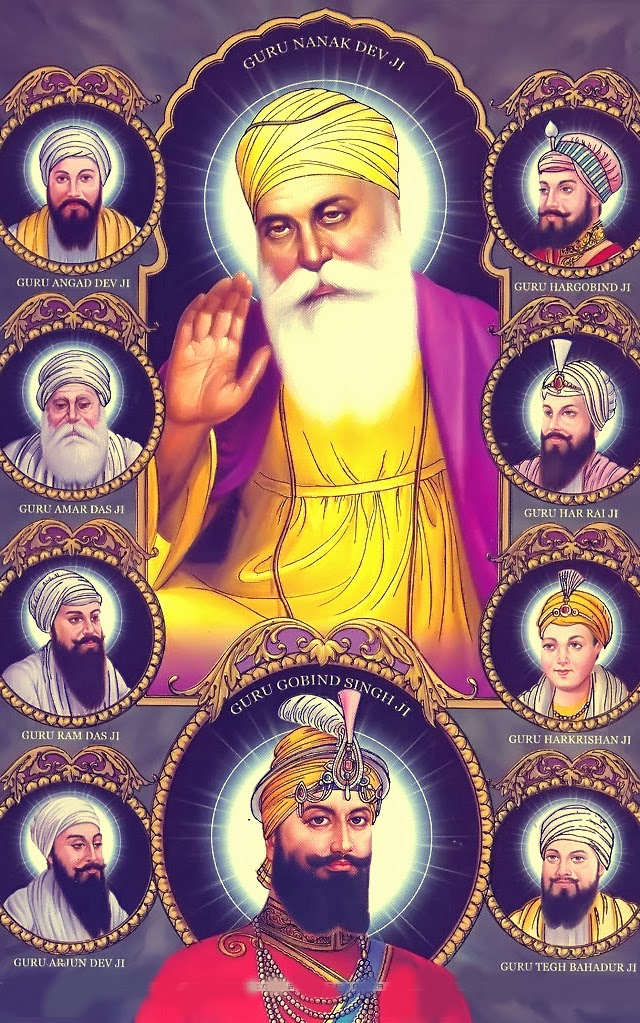Sikh Wallpapers Hd For Iphone 5 Hd Ten Sikh Gurus Isikh Hd Wallpapers